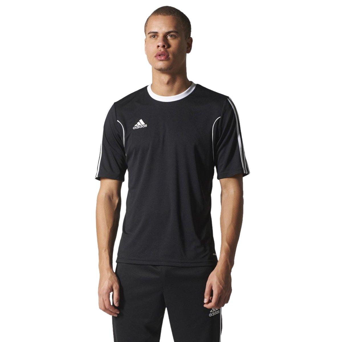 91e51383e7 Bizz Store - Camiseta Masculina Adidas Squadra 13 Futebol Preta