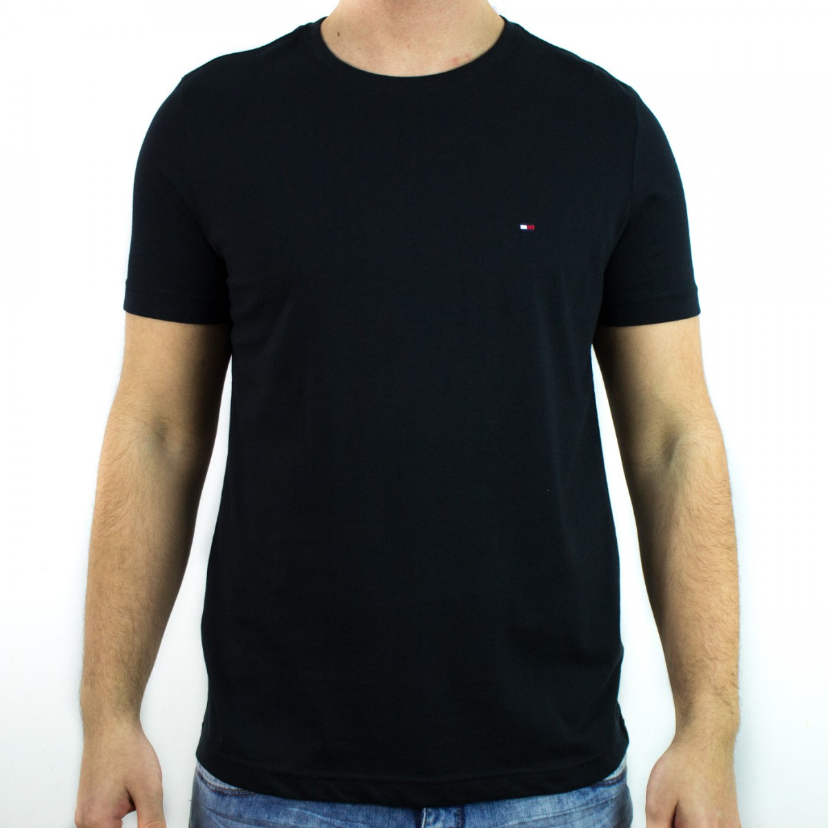 ef64722694 Bizz Store - Camiseta Masculina Tommy Hilfiger Manga Curta
