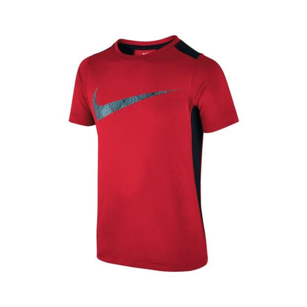 1134c7b5d5cb Bizz Store - Camiseta Infantil Masculina Nike Dry Training Vermelha