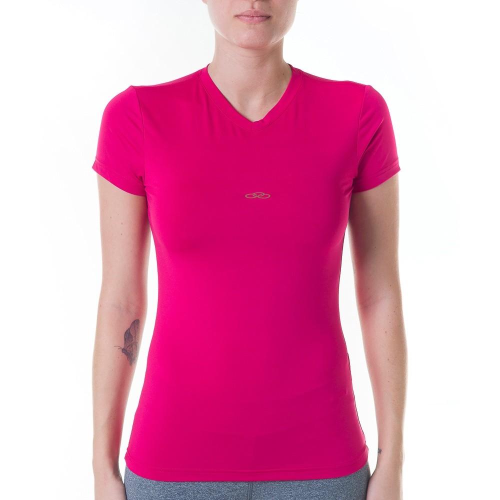 4b0edfd256 Bizz Store - Camiseta Feminina Olympikus Esportiva Preta Rosa