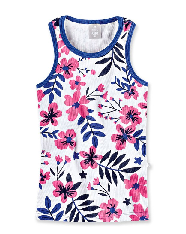 f27f7727160e3 Bizz Store - Regata Infantil Menina Hering Kids Floral Azul