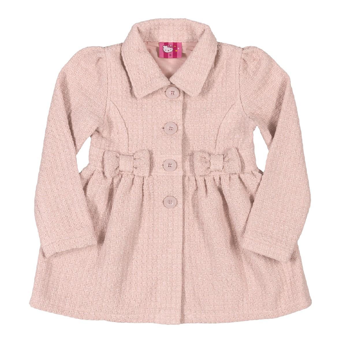 42df681c3f Bizz Store - Casaco Infantil Feminino Hello Kitty Rosa Vinho
