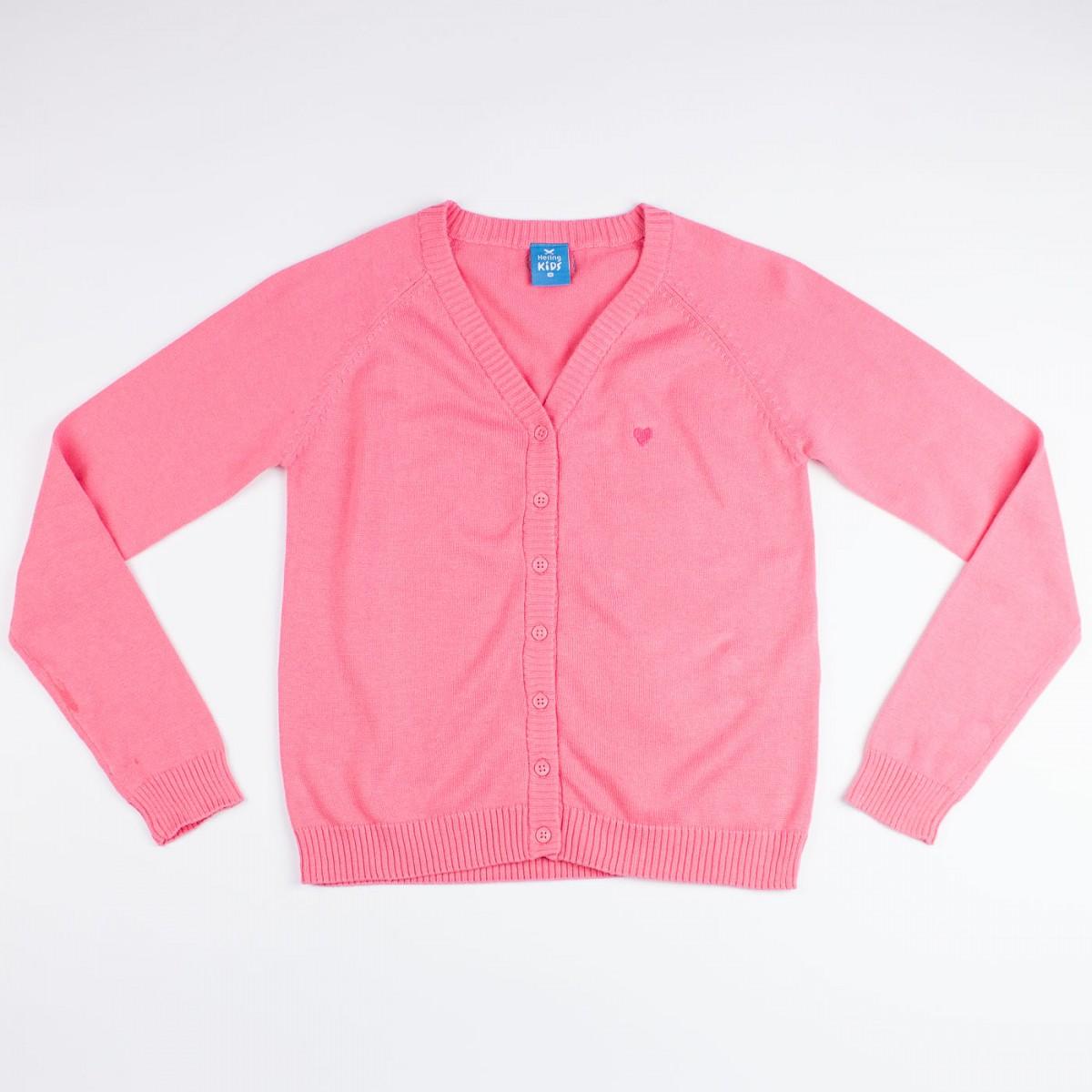 Bizz Store - Casaco Infantil Feminino Hering Kids Cardigan c10929e9004