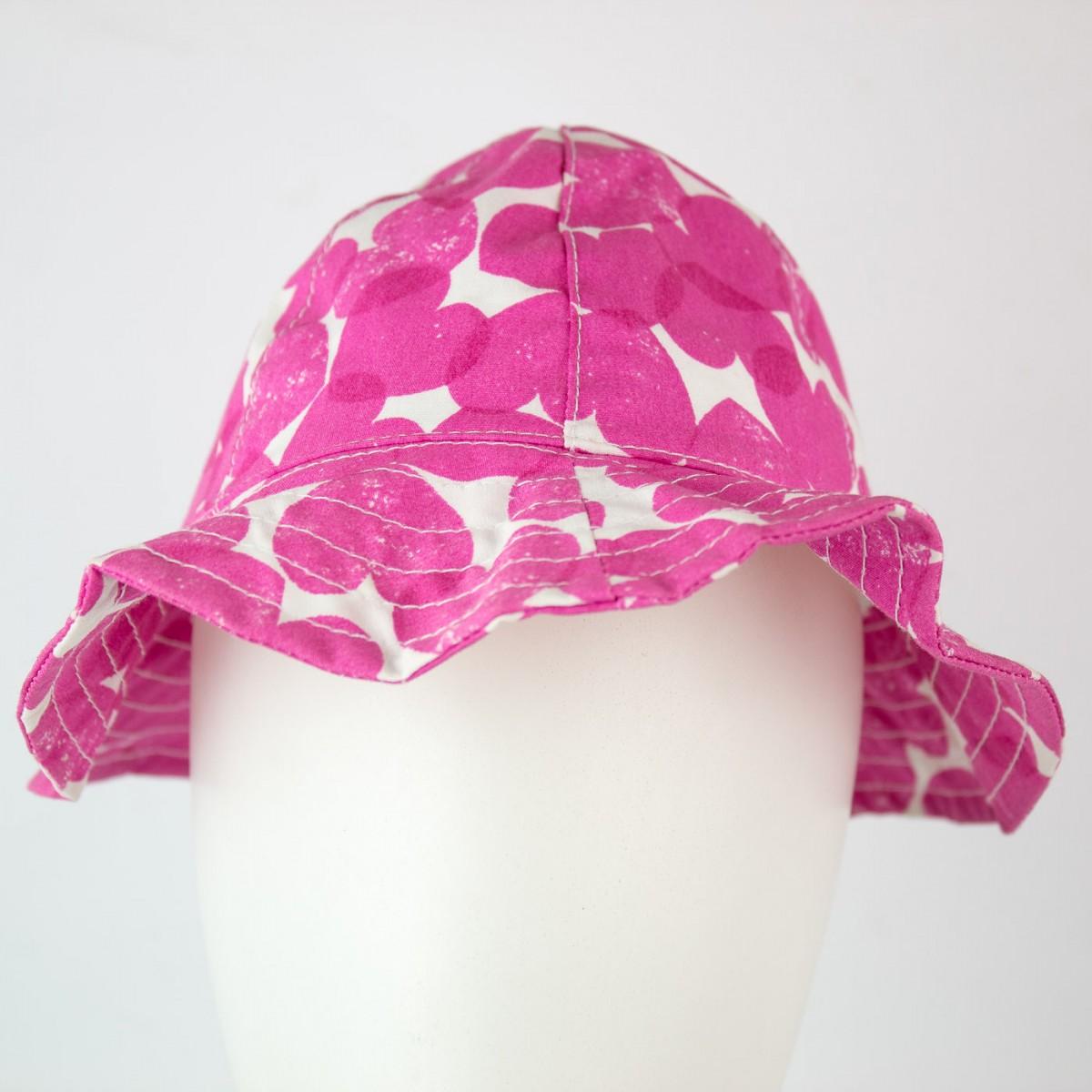 Bizz Store - Chapéu Infantil Feminino Hering Kids Rosa Coração 65e148cbaf3