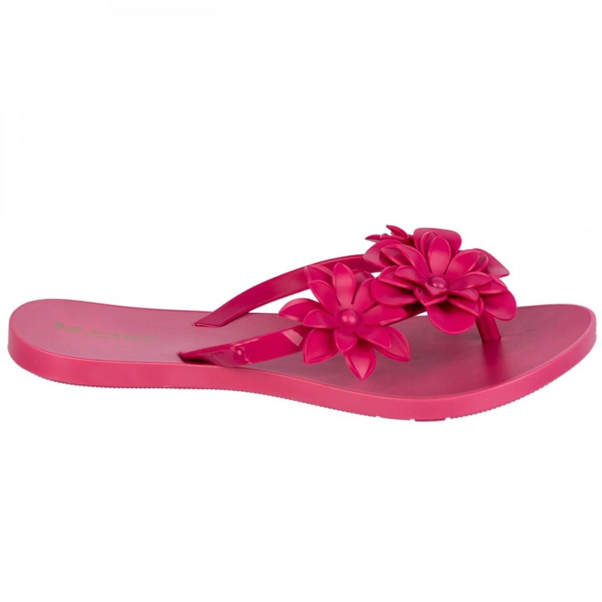 8360e579f Bizz Store - Chinelo Feminino Zaxy Grendene Fresh Preto/Rosa/Nude