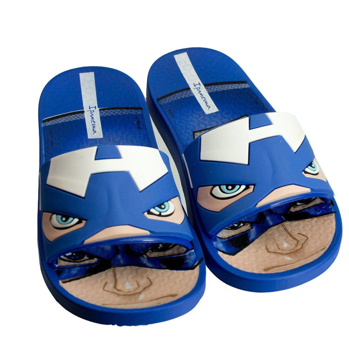 04fbf0f436 Bizz Store - Chinelo Slide Infantil Grendene Ipanema Avengers