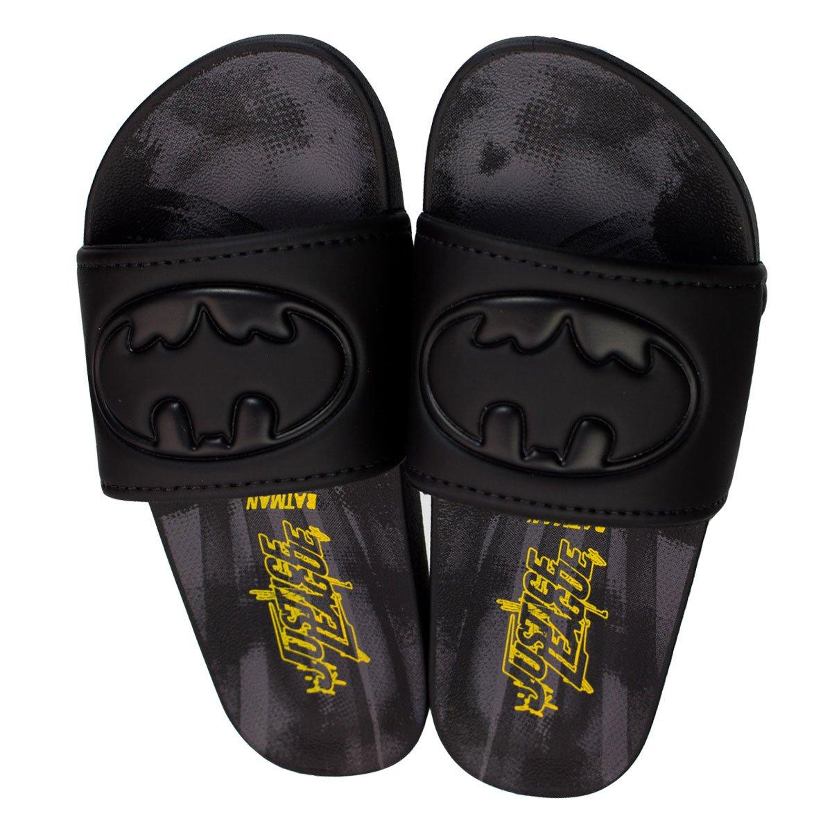 8003bd667f Bizz Store - Chinelo Slide Grendene Batman Liga Da Justiça