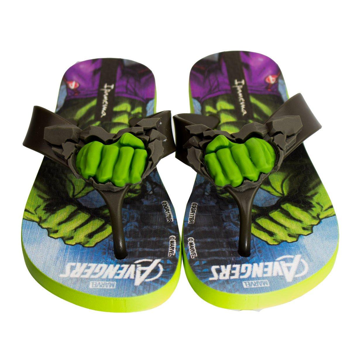 31329fab18 Bizz Store -Chinelo Infantil Menino Grendene Ipanema Avengers