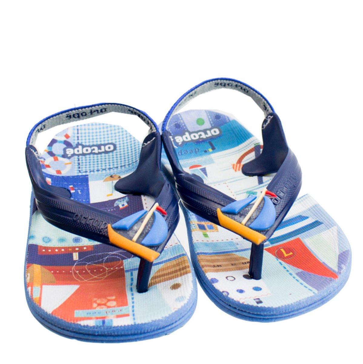 e5119f04a8ec9 Bizz Store - Chinelo Infantil Masculino Ortopé Aqua Flex PVC