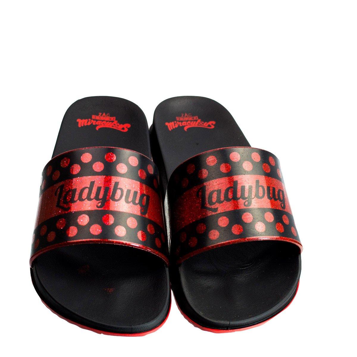 ab96ef1ac1 Bizz Store - Chinelo Slide Infantil Grendene Ladybug Alide
