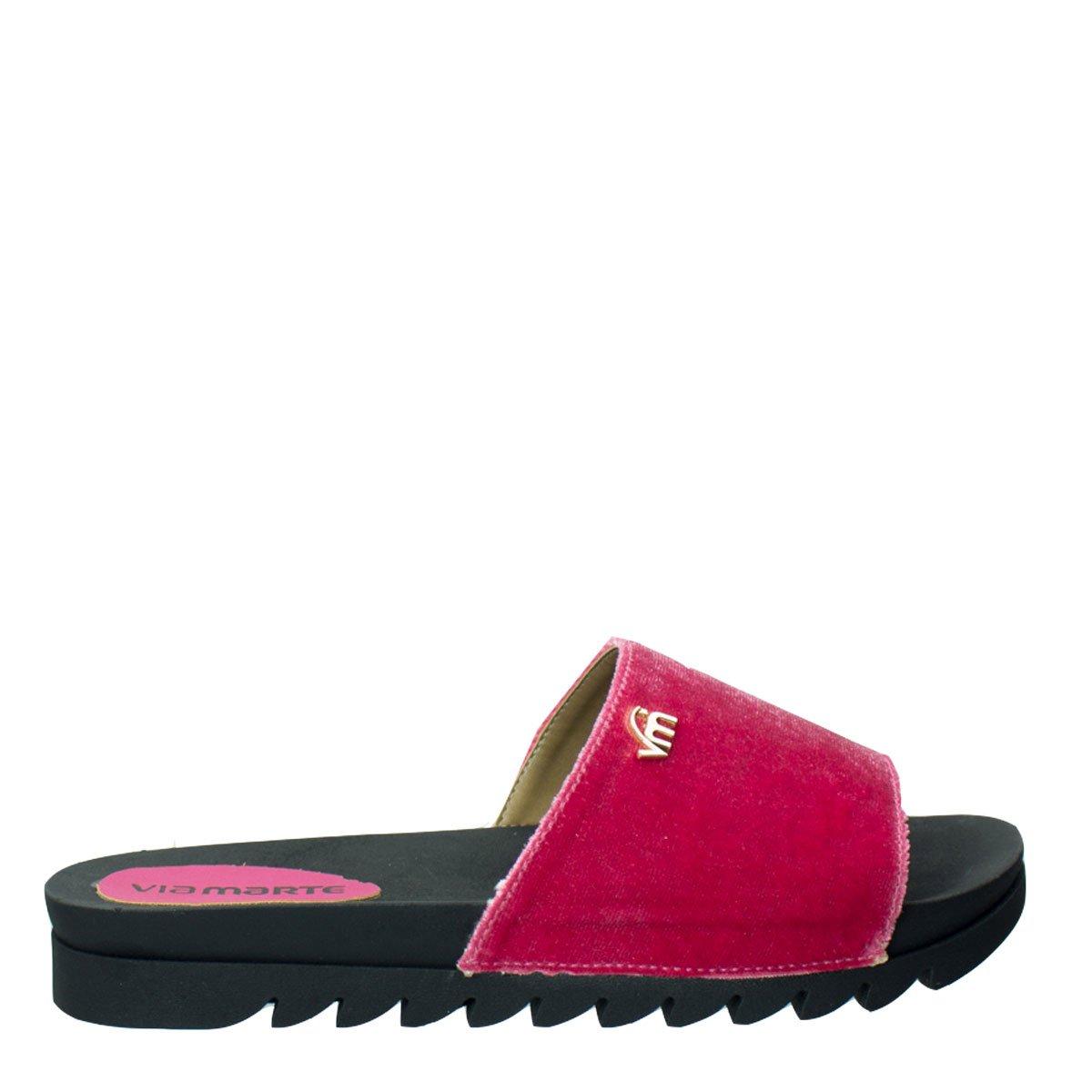 11a18d58620 Bizz Store - Chinelo Slide Feminino Via Marte Veludo