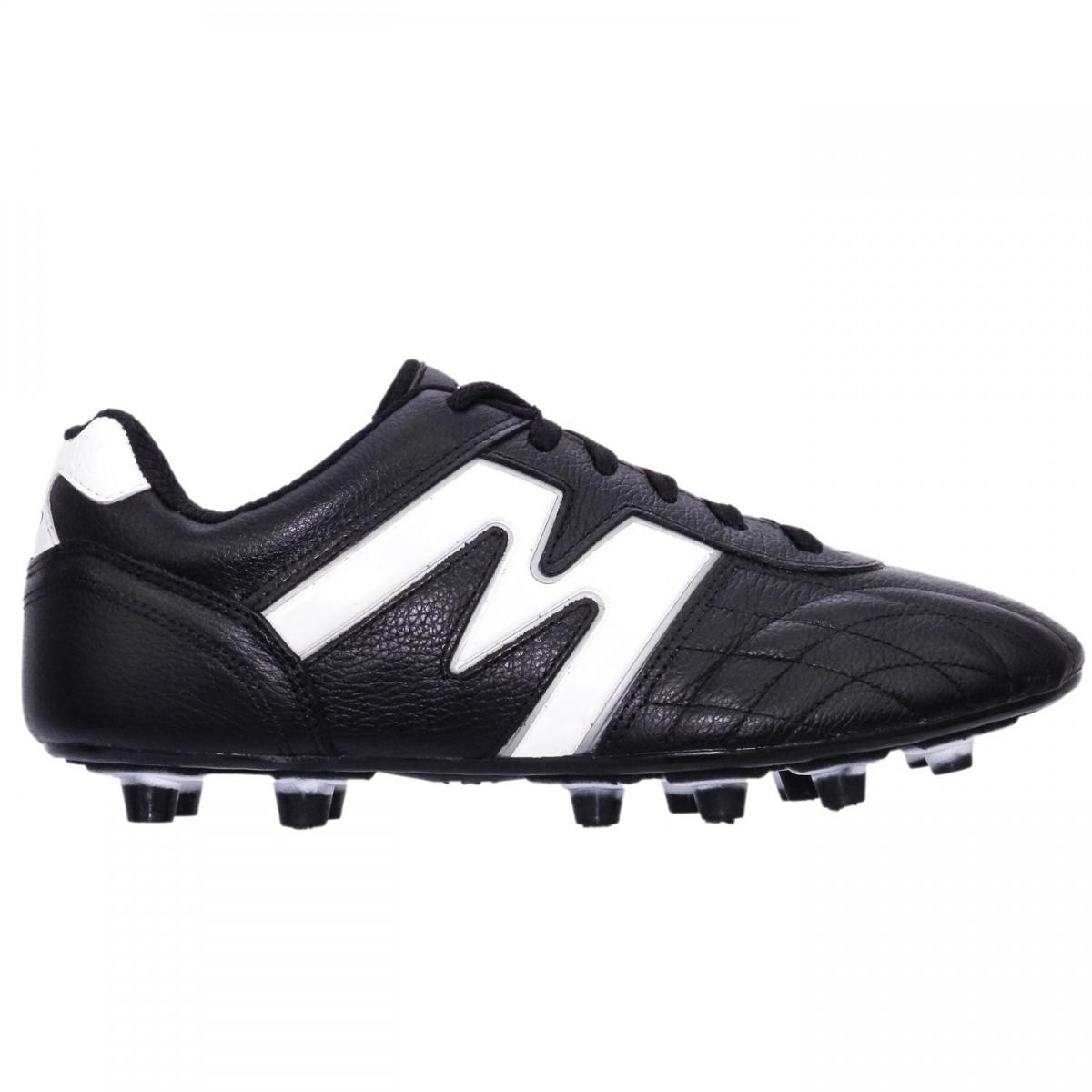 Bizz Store - Chuteira Futebol de Campo Mathaus Couro Legítimo 1f24dc40b94b7