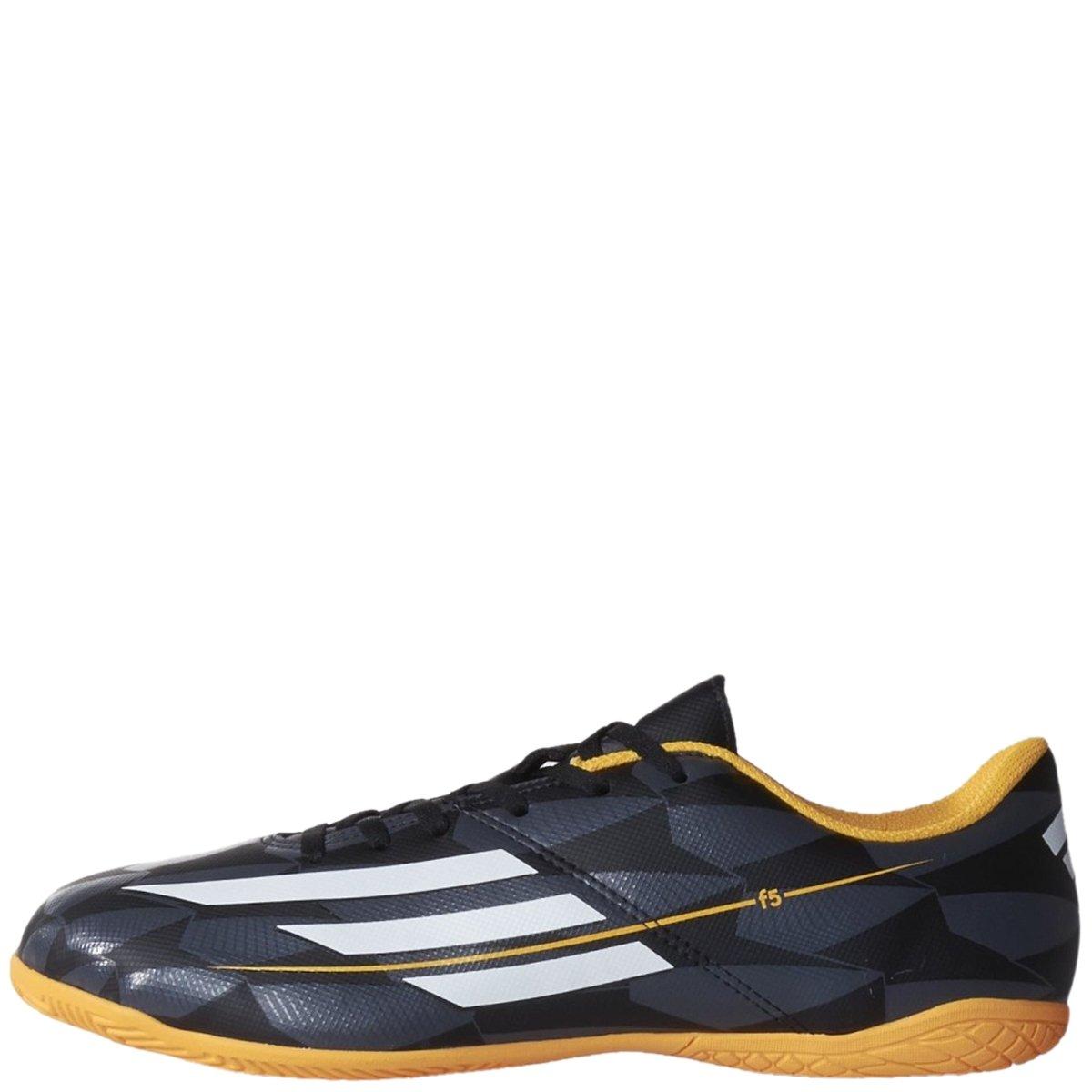 bc98173445 Bizz Store - Chuteira Futsal Adidas F5 IN Masculina Preta Couro