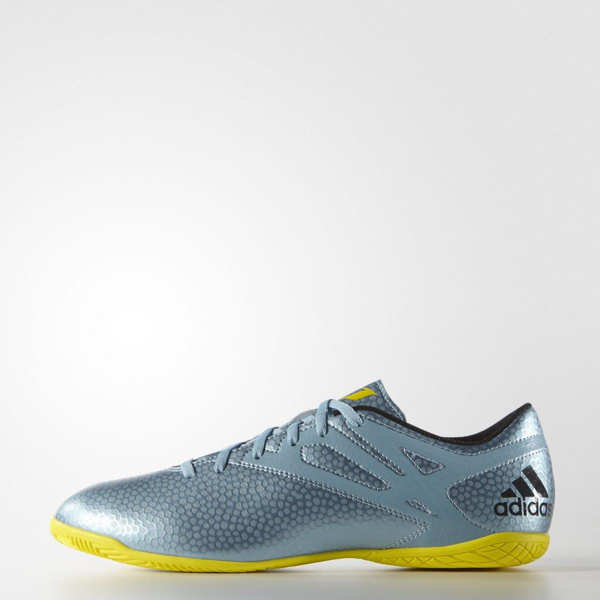 515ab9be1b928 Bizz Store - Chuteira Futsal Adidas Messi 15.4 IN Azul/Verde