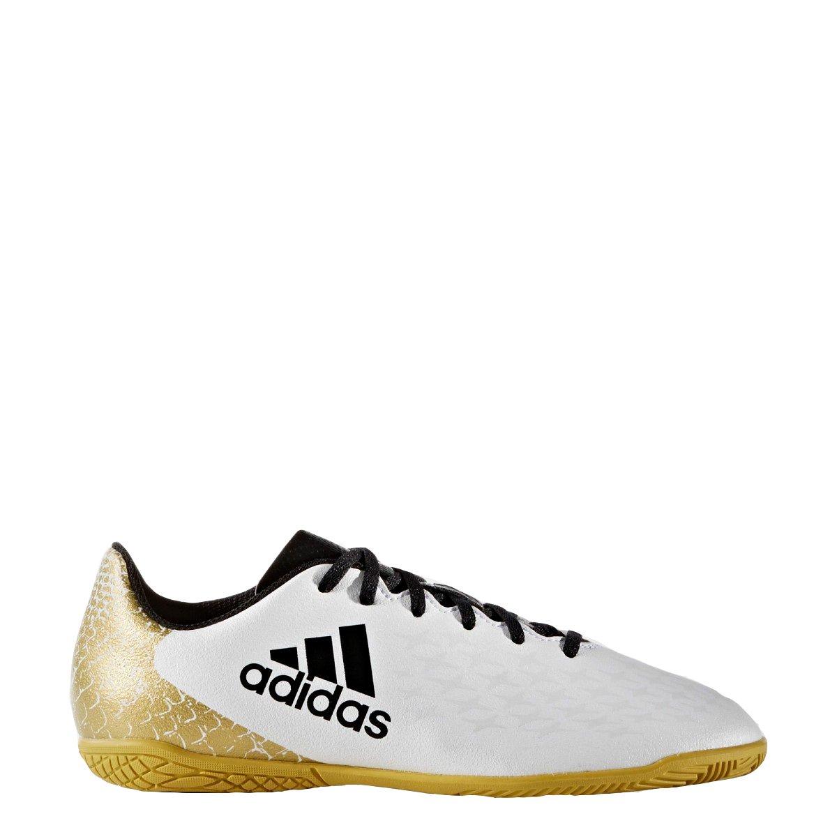 d92d4f0521792 Bizz Store - Chuteira Futsal Masculina Adidasi X 16.4 Branco