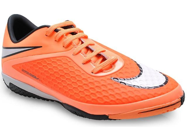 fc0872f162 Chuteira Futsal Hypervenom Phelon Nike 599849-800 - Laranja branco ...