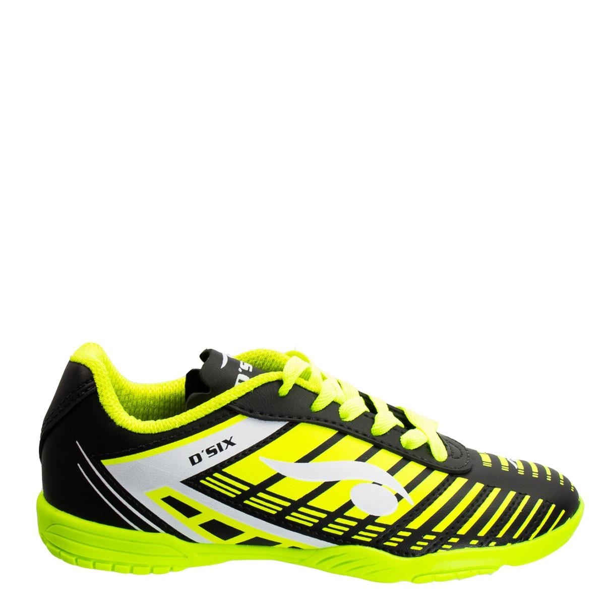 Imagem - Chuteira Futsal Infantil D six Indoor 6202 - 055209 52abd944b35f0