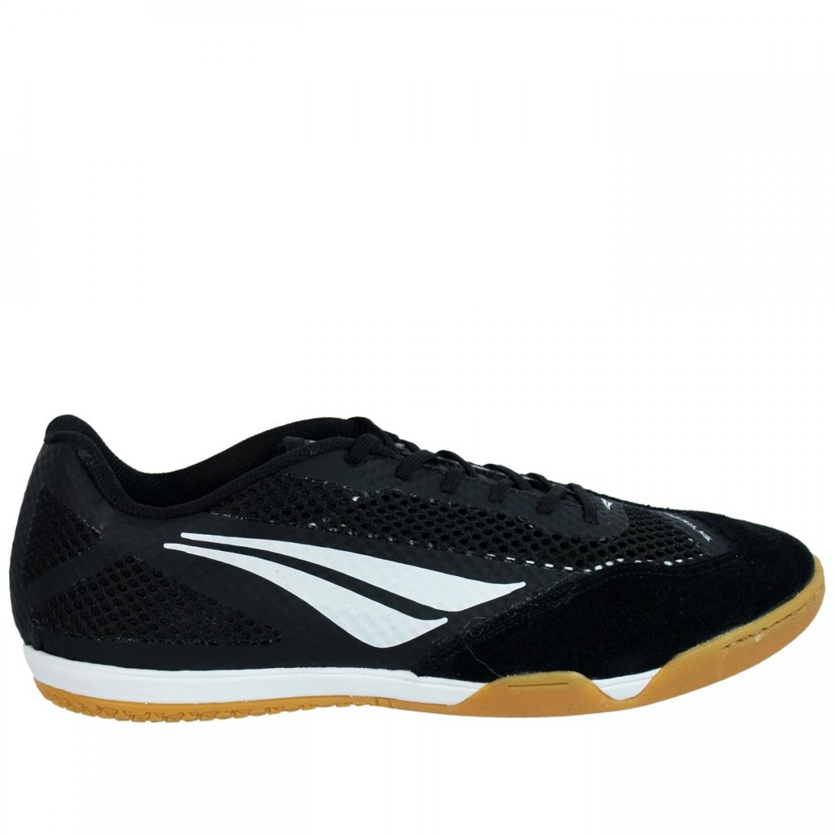 Bizz Store - Chuteira Futsal Masculina Penalty Max 500 Preto b2233decfc01a