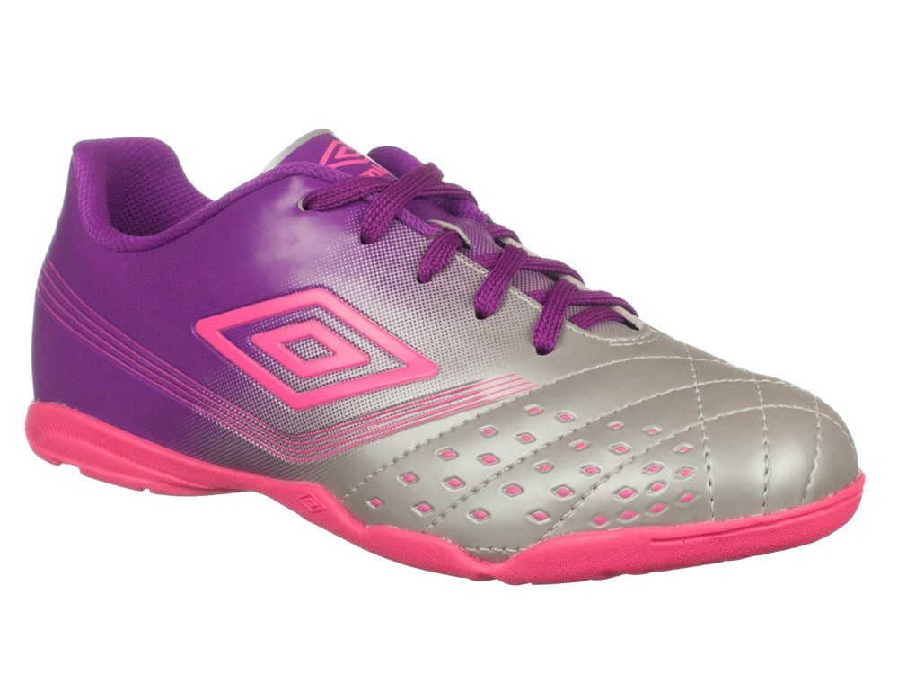 1c88c25136 Bizz Store - Chuteira Futsal Umbro Fifty Indoor Feminina Roxa