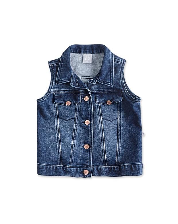 Bizz store colete jeans infantil feminino hering kids moletom jpg 620x780 Colete  jeans feminino 65c707d479e35