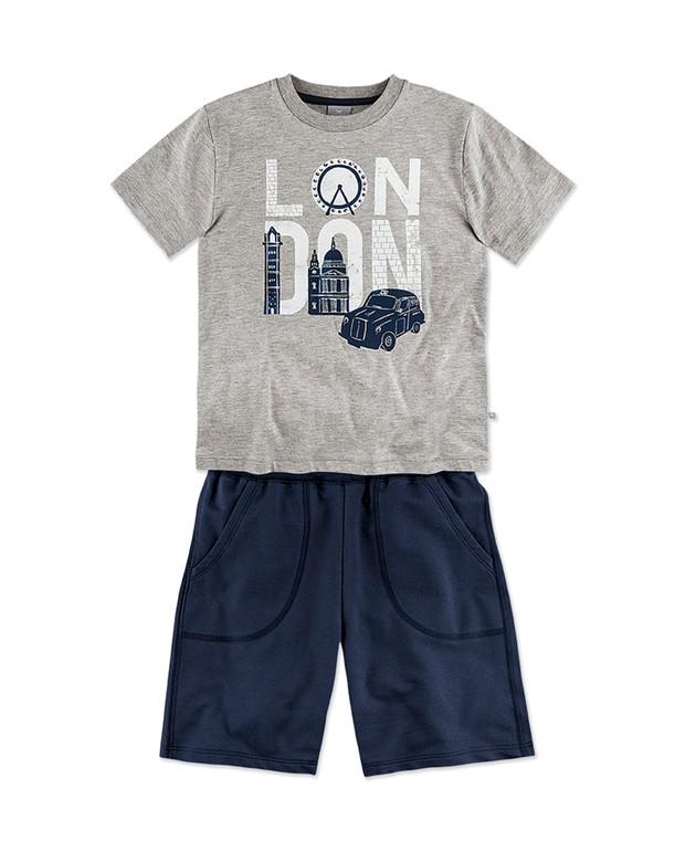 0e378725ac Bizz Store - Conjunto Infantil Masculino Hering Kids Verão