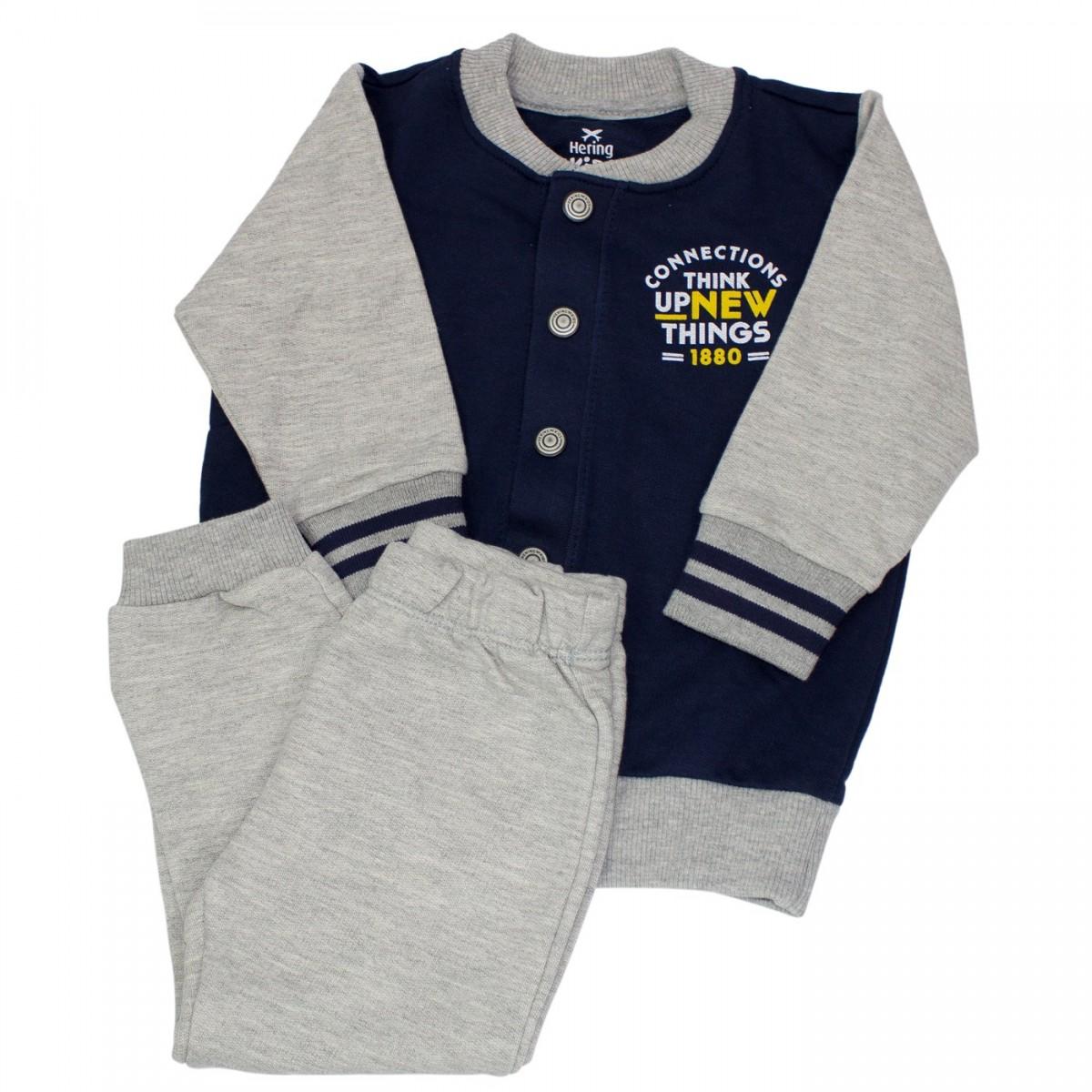 20d9e00ae2dcd Bizz Store - Conjunto Infantil Menino Hering Kids College Moletom