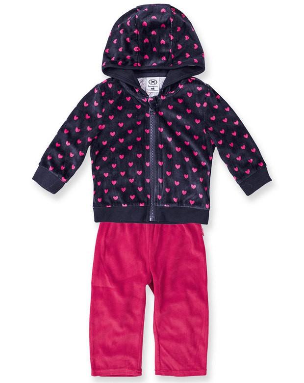 Bizz Store - Conjunto Infantil Bebê Menina Hering Kids Plush 371fc58bb8fe7