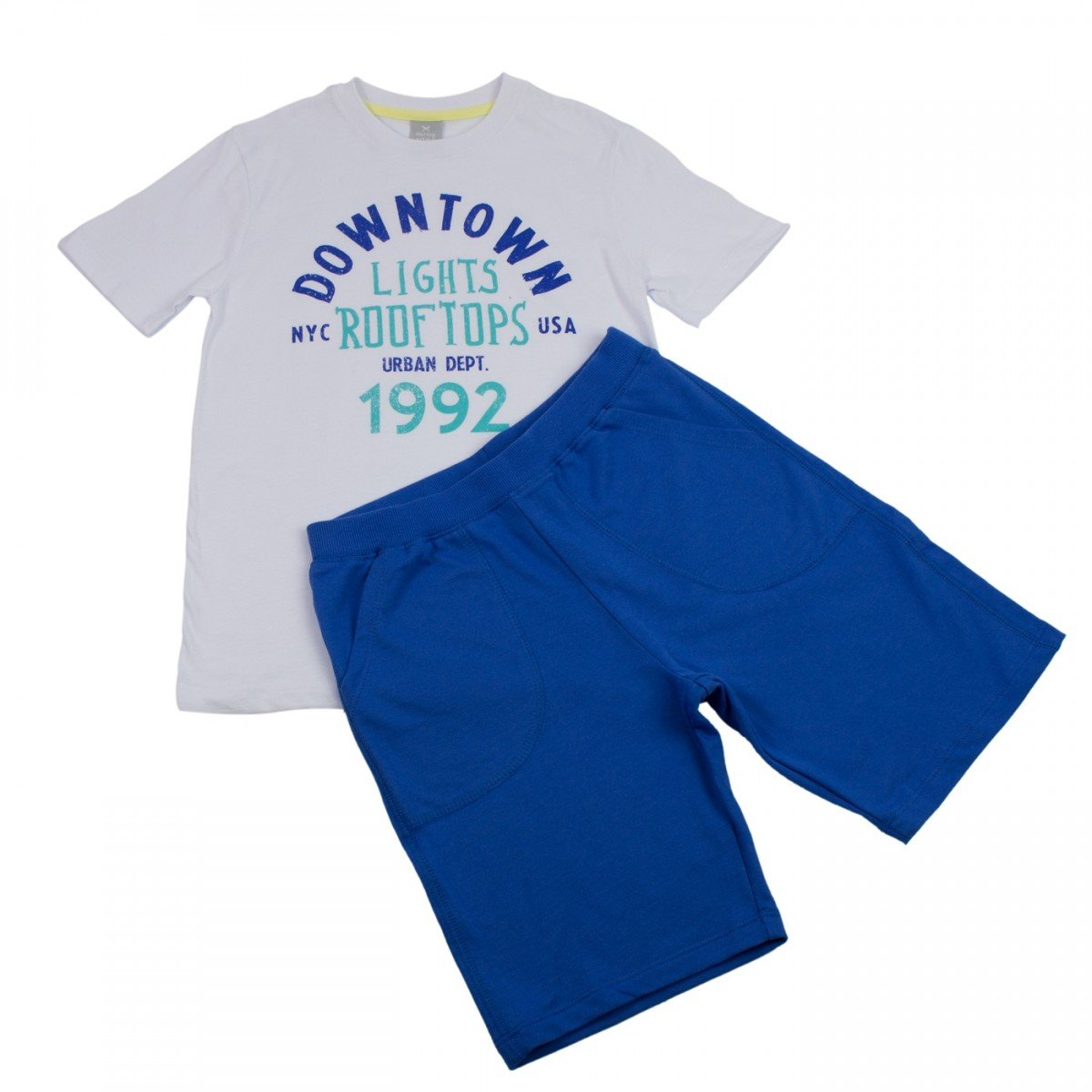 4e0db3709e Bizz Store - Conjunto Infantil Masculino Hering Kids Verão