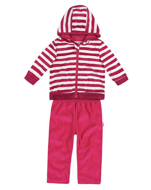 70b82b9d4 Bizz Store - Conjunto Infantil Bebê Menina Hering Kids Plush
