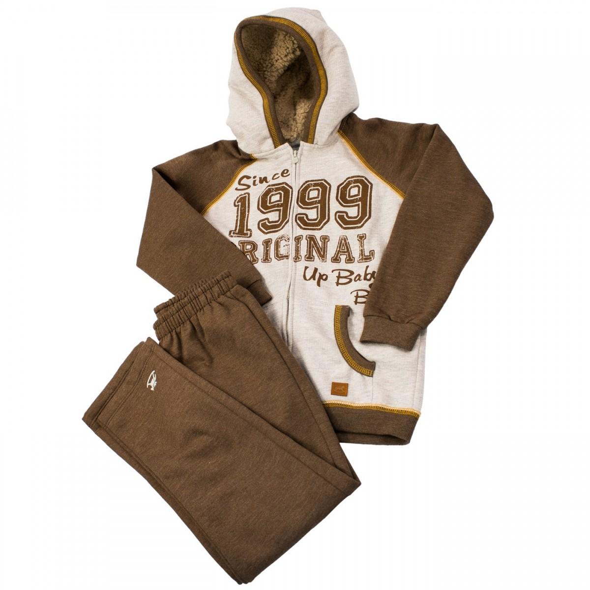 0b94047590fdf Bizz Store - Conjunto Infantil Masculino UP Baby Moletom Marinho