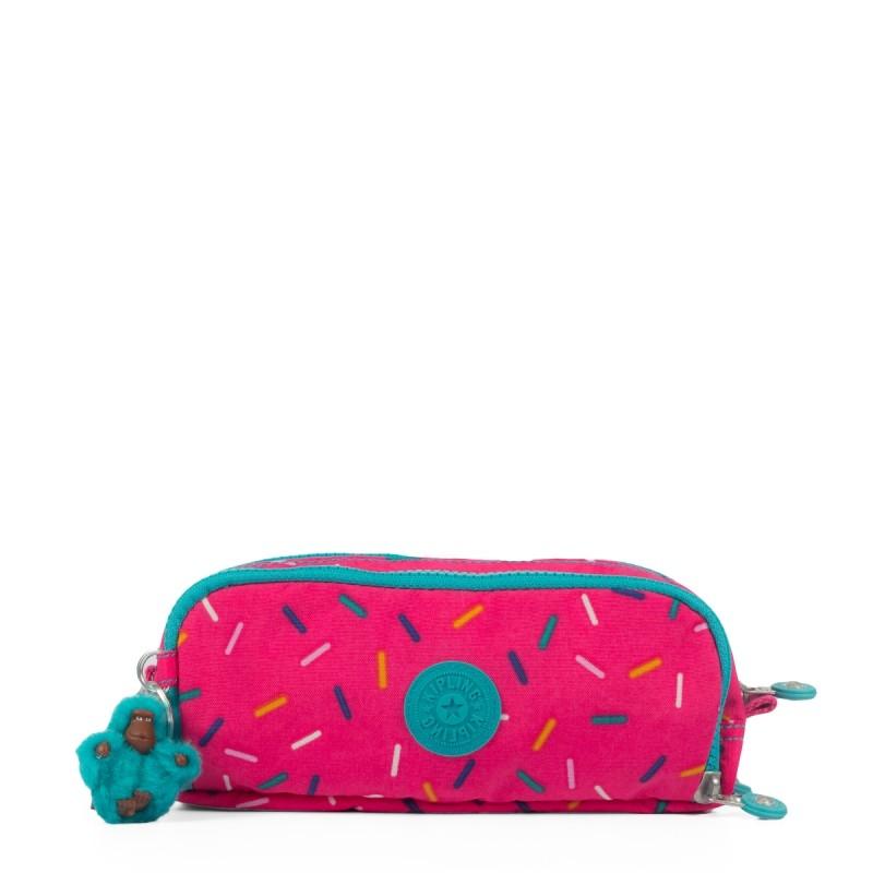4e208c64b Bizz Store - Estojo Escolar Kipling Gitroy Marinho/Rosa