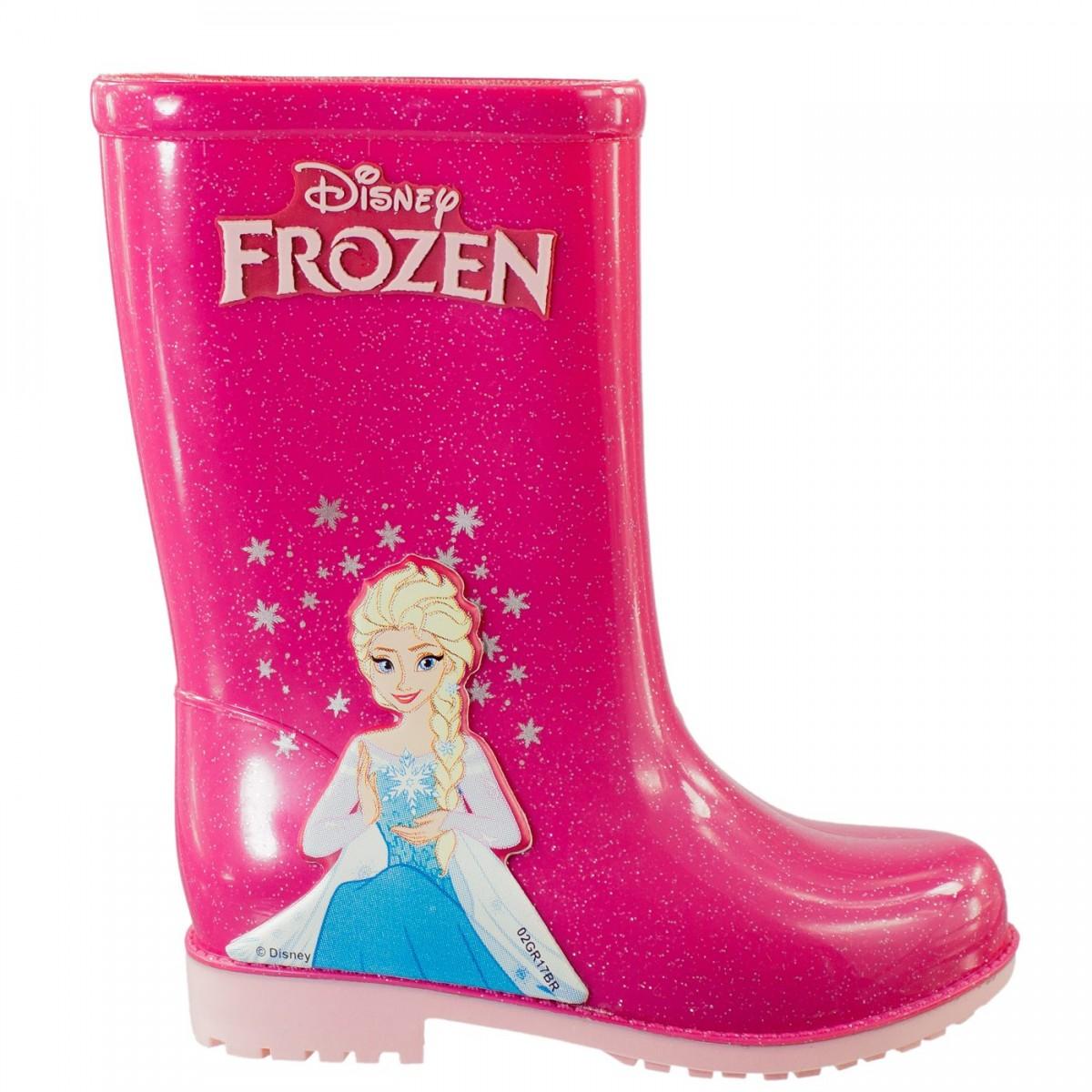 684cbd0096e Bizz Store - Galocha Infantil Menina Grendene Dreams Frozen