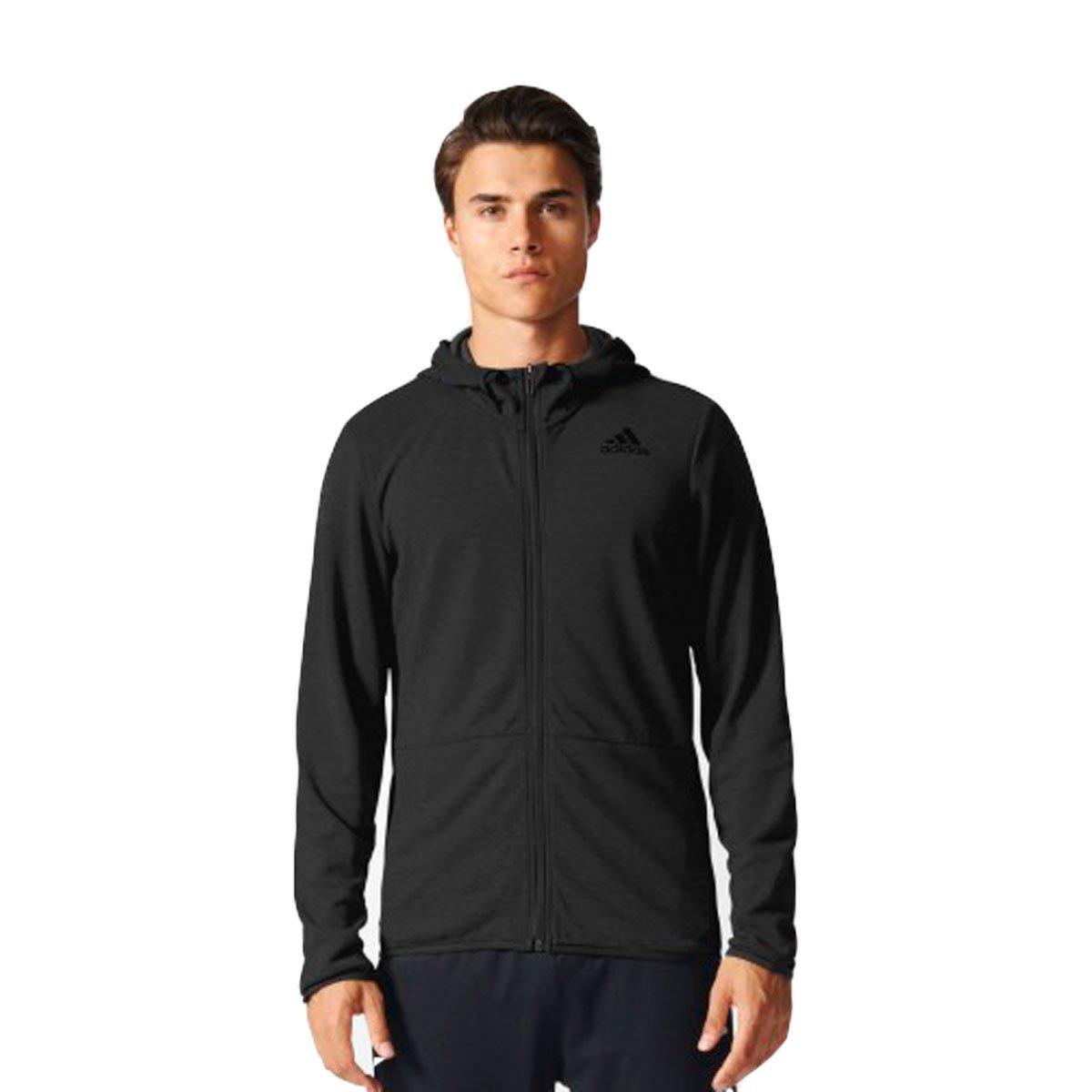 4af7e4e5d66 Bizz Store - Jaqueta Masculina Adidas Work FZ Climacool Preta