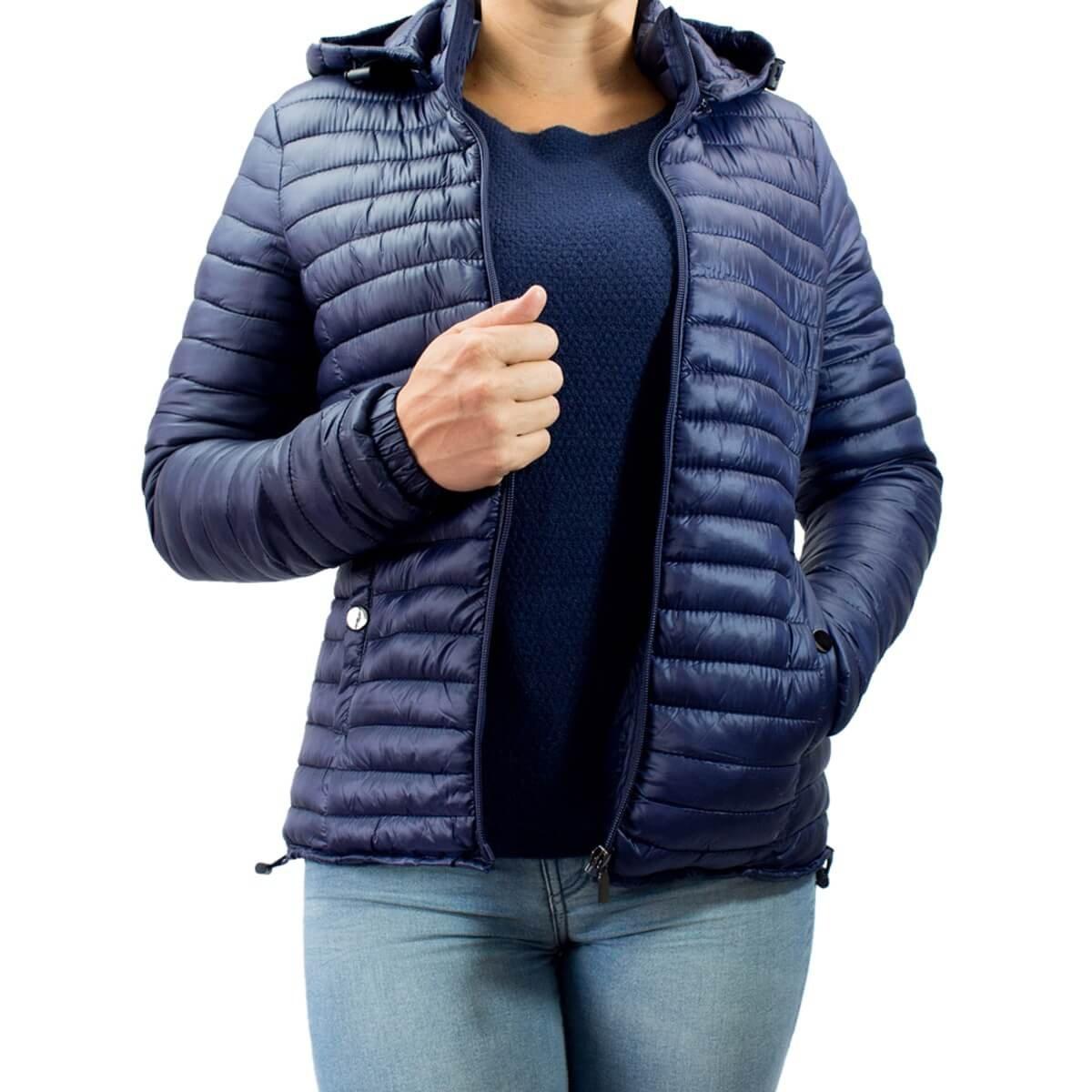 5622f5e4a Bizz Store - Jaqueta Feminina Facinelli Nylon Com Capuz