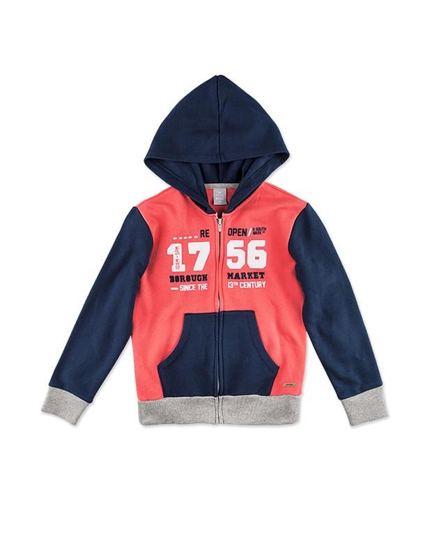 9f74adb33 Bizz Store - Jaqueta Infantil Masculina Hering Kids Moletom