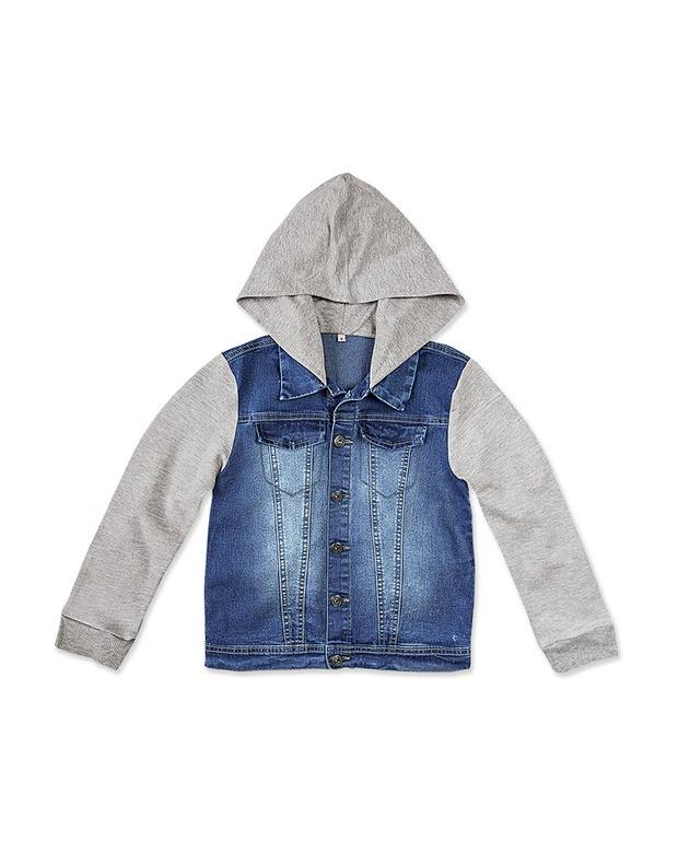 dd5f4710f Bizz Store - Jaqueta Jeans Moletom Infantil Menino Hering Kids