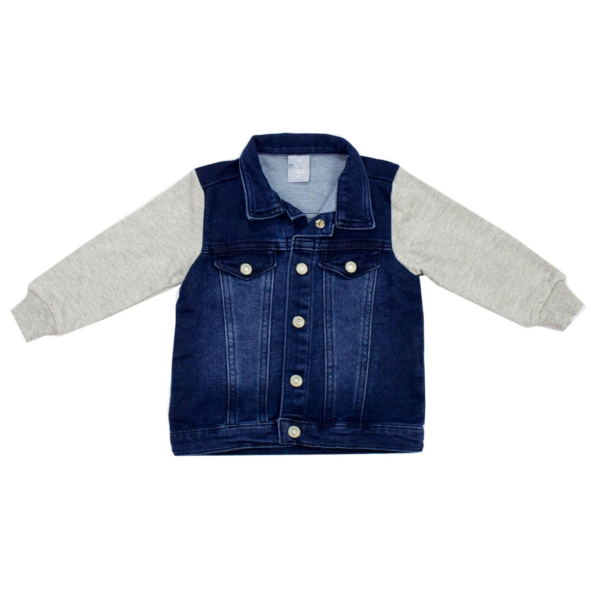 bfeff65b2 Bizz Store - Jaqueta Jeans Infantil Bebê Hering Kids Moletom