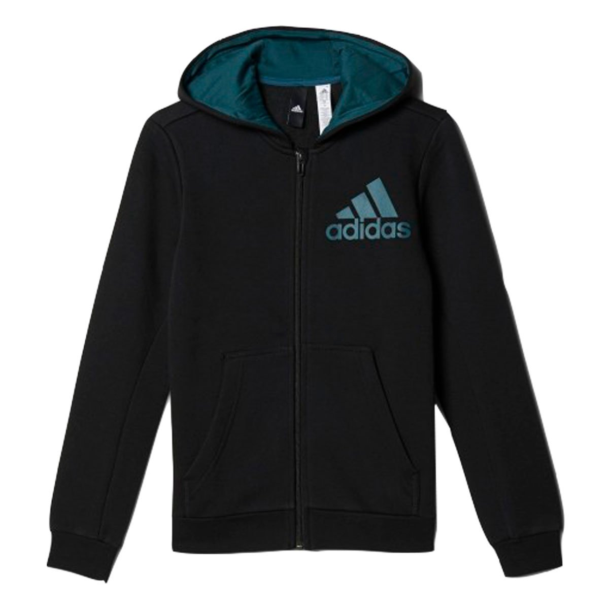 1f592bb36ad Bizz Store - Jaqueta Infantil Adidas YB Logo FZ Hood Moletom