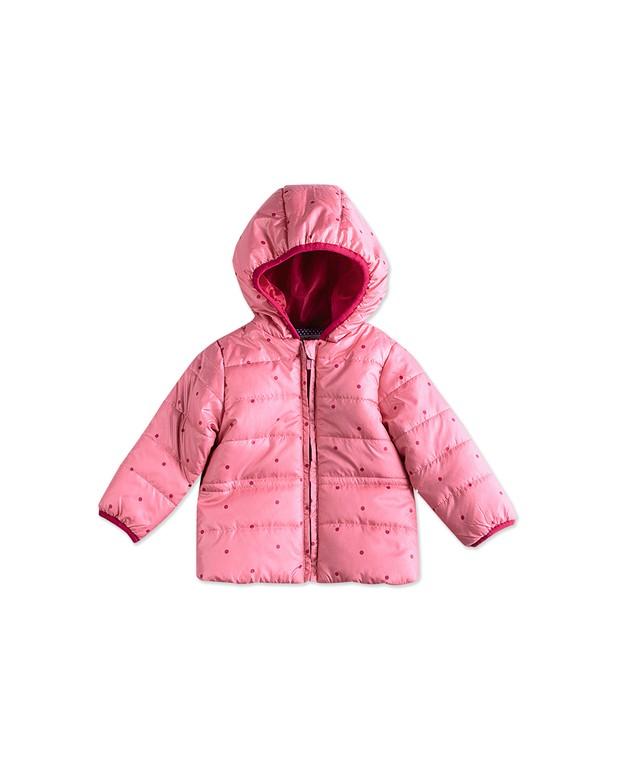 8bf1aa80a8 Bizz Store - Jaqueta Infantil Feminina Hering Kids Rosa Poá