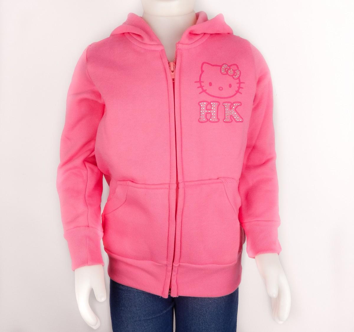 33f9512e08 Bizz Store - Jaqueta Infantil Feminina Hello Kitty Moletom