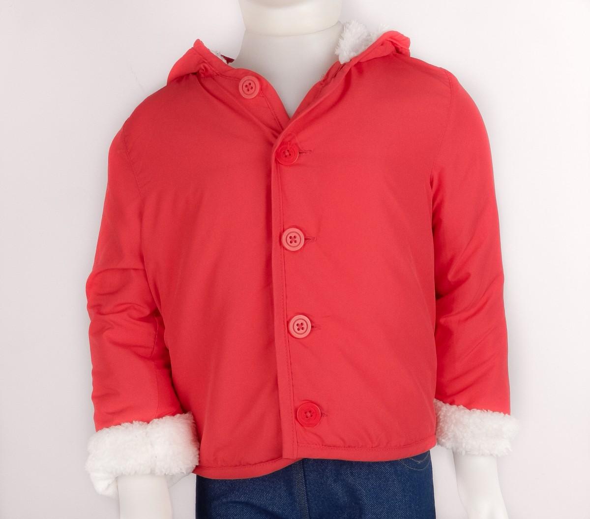 1c8a2e6538 Bizz Store - Jaqueta Infantil Feminina Hering Kids Com Pele