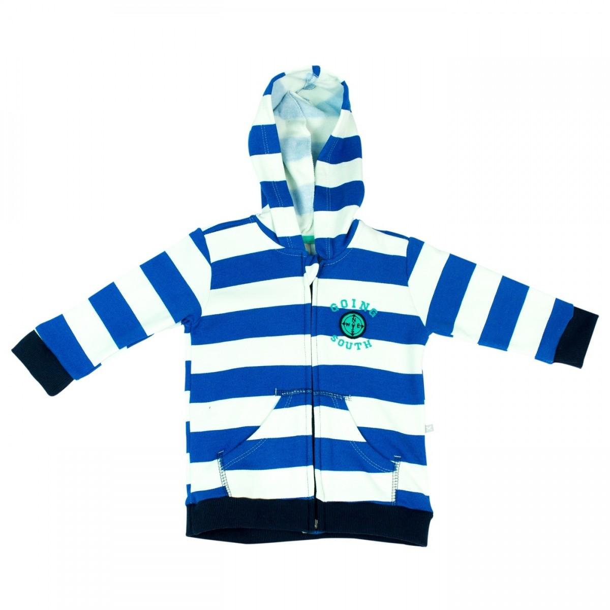 a0e56995b Bizz Store - Jaqueta Infantil Masculina Hering Kids Listrado