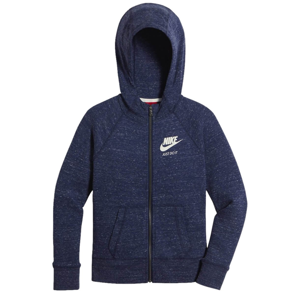 7697615c6 Bizz Store - Jaqueta Infantil Nike Gym Vintage FZ Hoodie