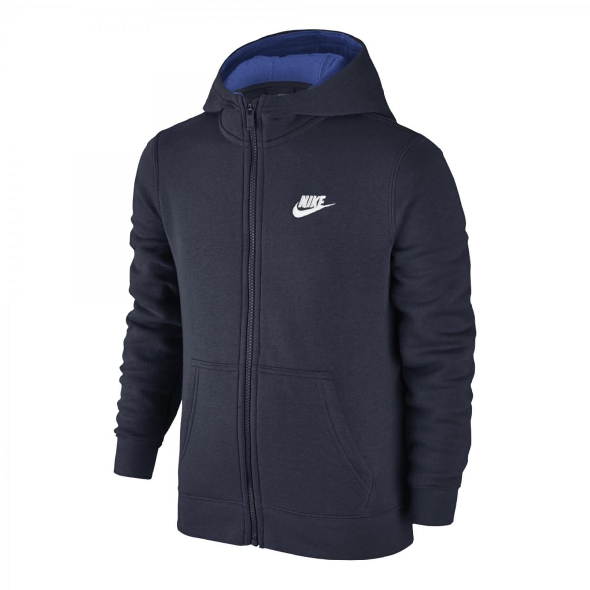 2dab2bc87c Bizz Store - Jaqueta Infantil Menino Nike NSW Hoodie FZ Moletom
