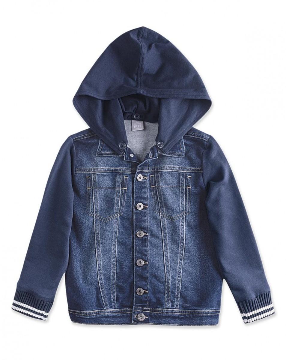 f5ad193194c2c Bizz Store - Jaqueta Jeans Infantil Masculina Hering Kids Moletom