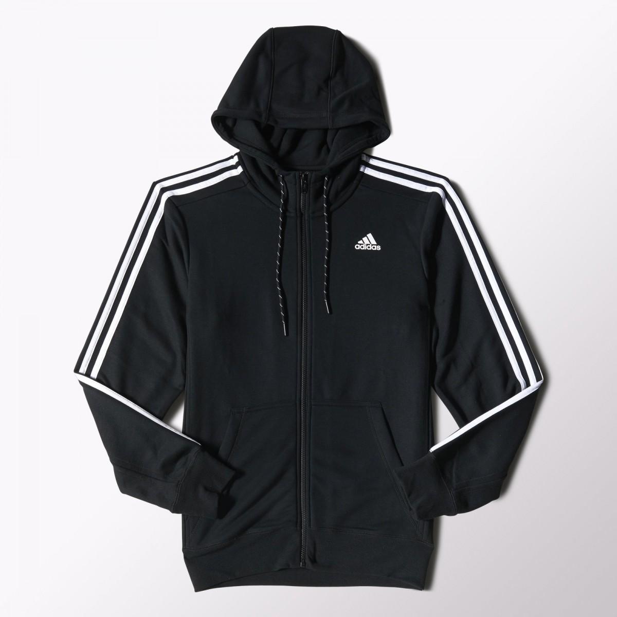6f9eeb63869 Bizz Store - Jaqueta Masculina Adidas Ess The Hood Preta S88109
