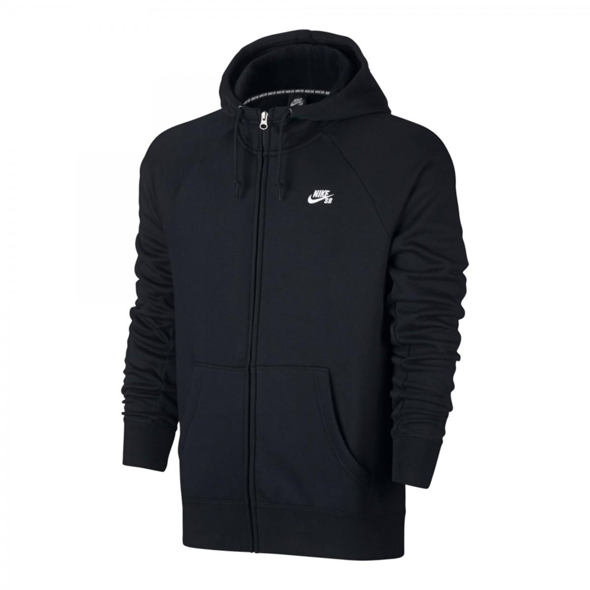 24f633e608 Bizz Store - Jaqueta Masculina Nike SB Icon FZ Hoodie Preta