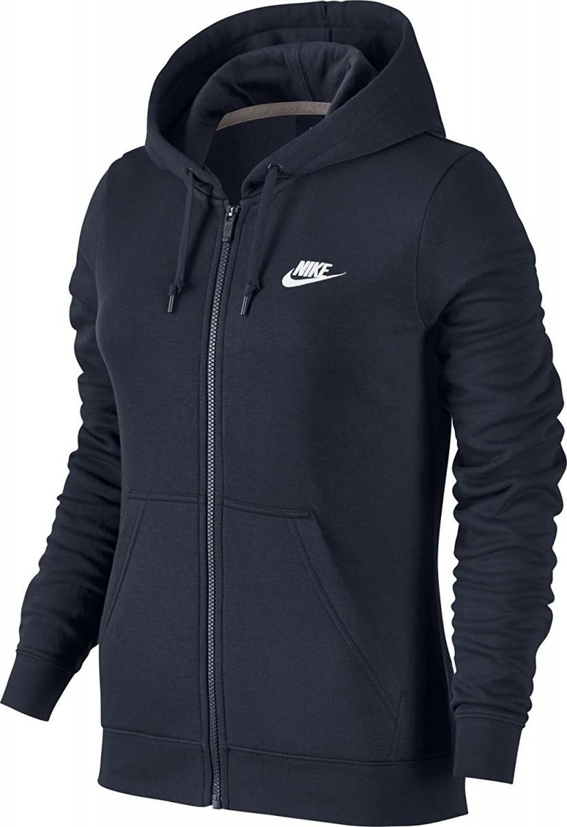 61258087f1207 Bizz Store - Jaqueta Feminina Nike NSW Hoody FZ Fleece Moletom