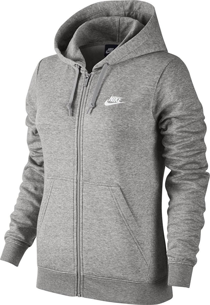 ff2378d611 Bizz Store - Jaqueta Feminina Nike NSW Hoody FZ Fleece Moletom