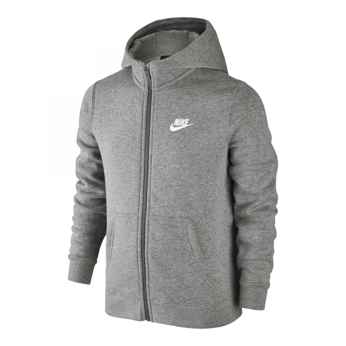 a52b6905a2779 Bizz Store - Jaqueta Infantil Menino Nike NSW Hoodie FZ Moletom